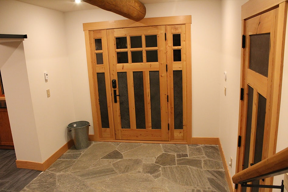 "21. ""We used several of your reclaimed Douglas fir doors. We love the doors! They feel like they have always belonged with the house."" - Greg Cowan, Mission, BC"