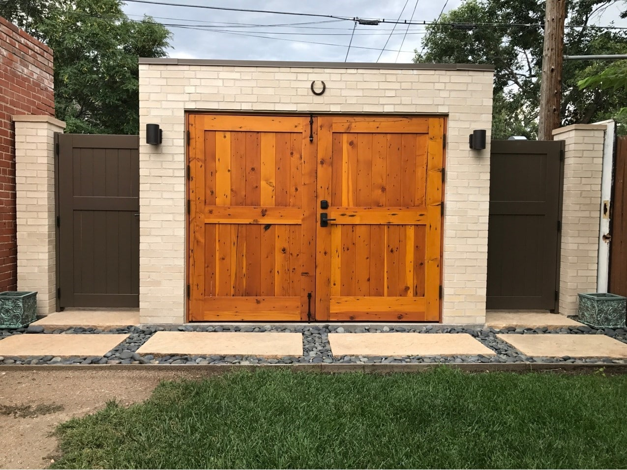 128. CL15N design – full panel tongue and groove in Reclaimed Douglas Fir; Denver, CO