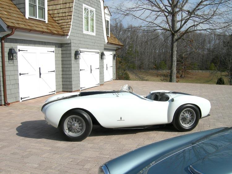 77. Classic British X Brace (CL15B) with a 1953 Ferrari 375 MM