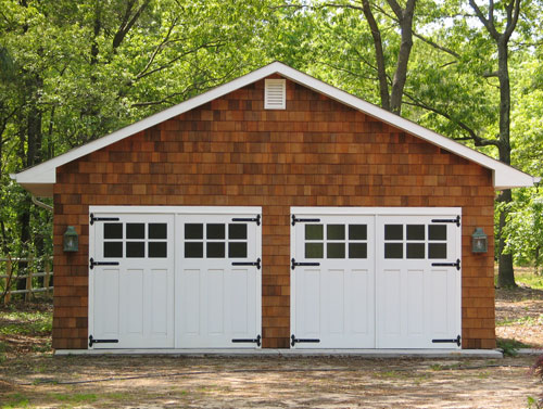 79. Craftsman Traditional Carriage Doors (CTL05) and Entry (ECTL04) in Toms River, NJ