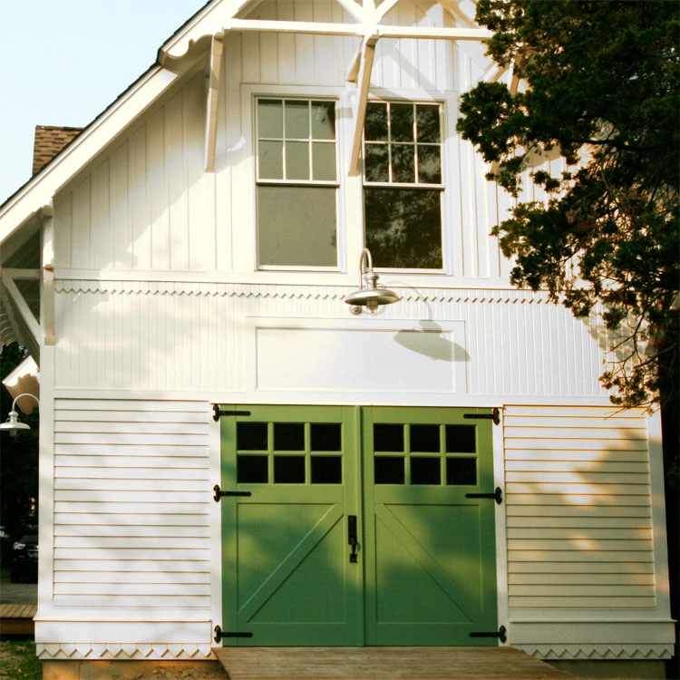 69. Classic Z Brace Carriage Doors (CL05) on Historic Renovation in Northport, NY